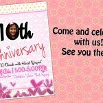 10th Anniversary Celebration