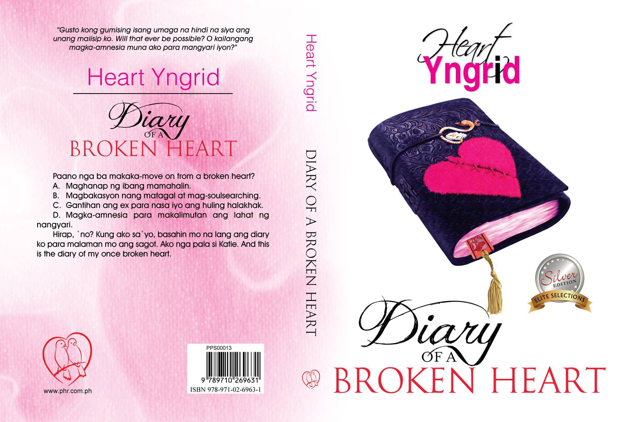 Diary Of A Broken Heart Official Cover