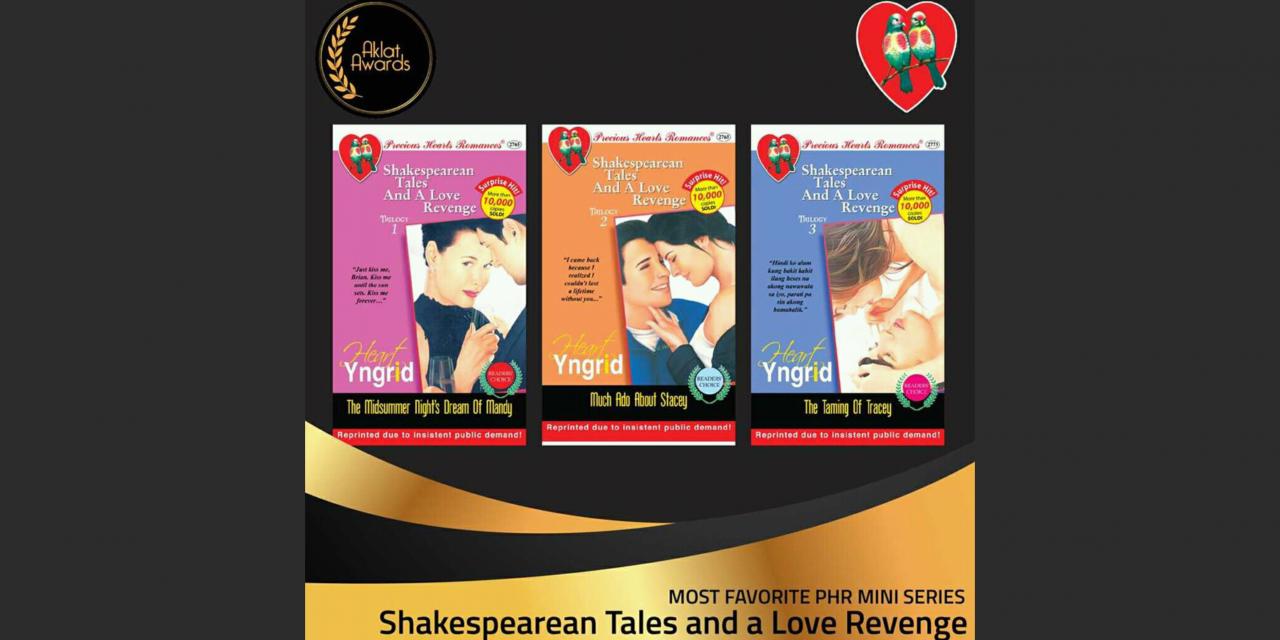 Mini-series Won Aklat Awards